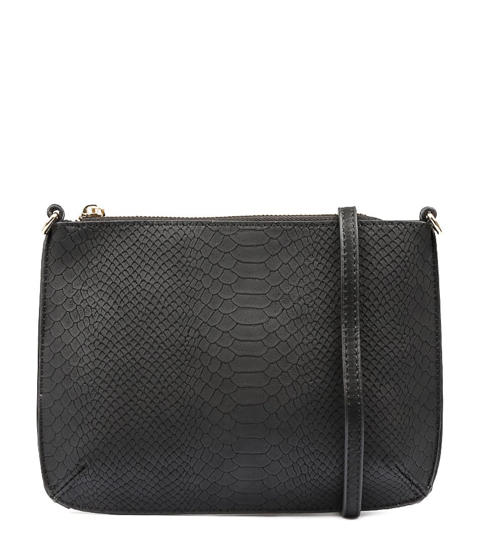 Peta & Jain Brooklyn Pj Black Bags Womens Shoes Casual Cross Body Bags