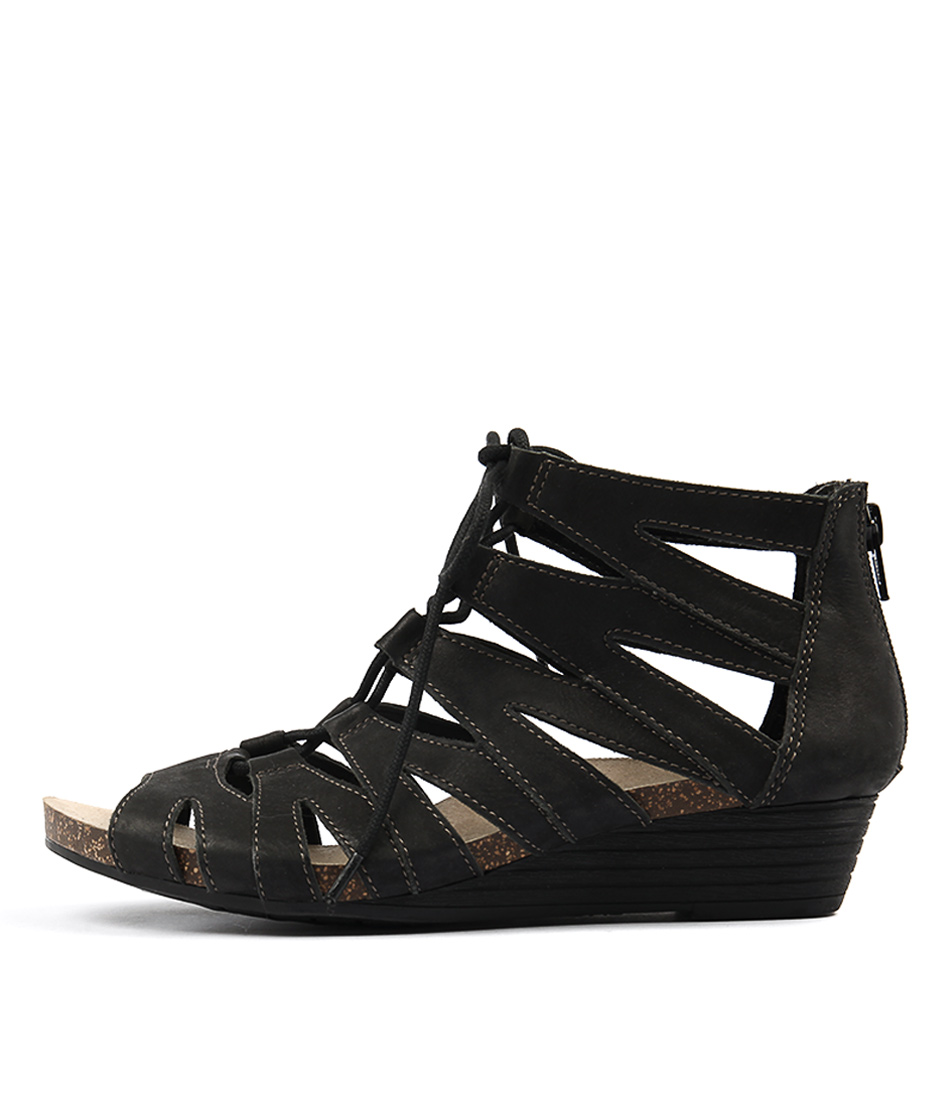 Planet Anita Pl Black Sandals