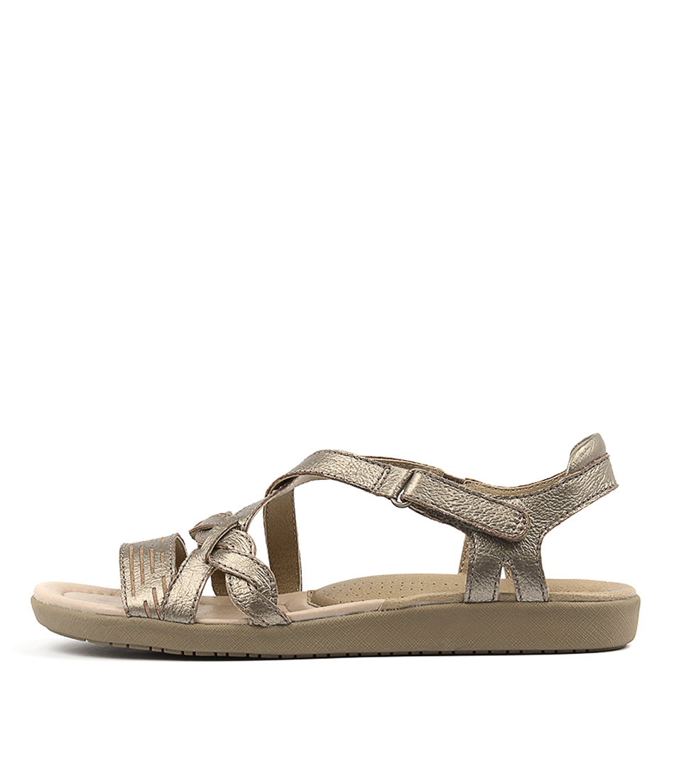 Planet Beth Pl Platinum Sandals