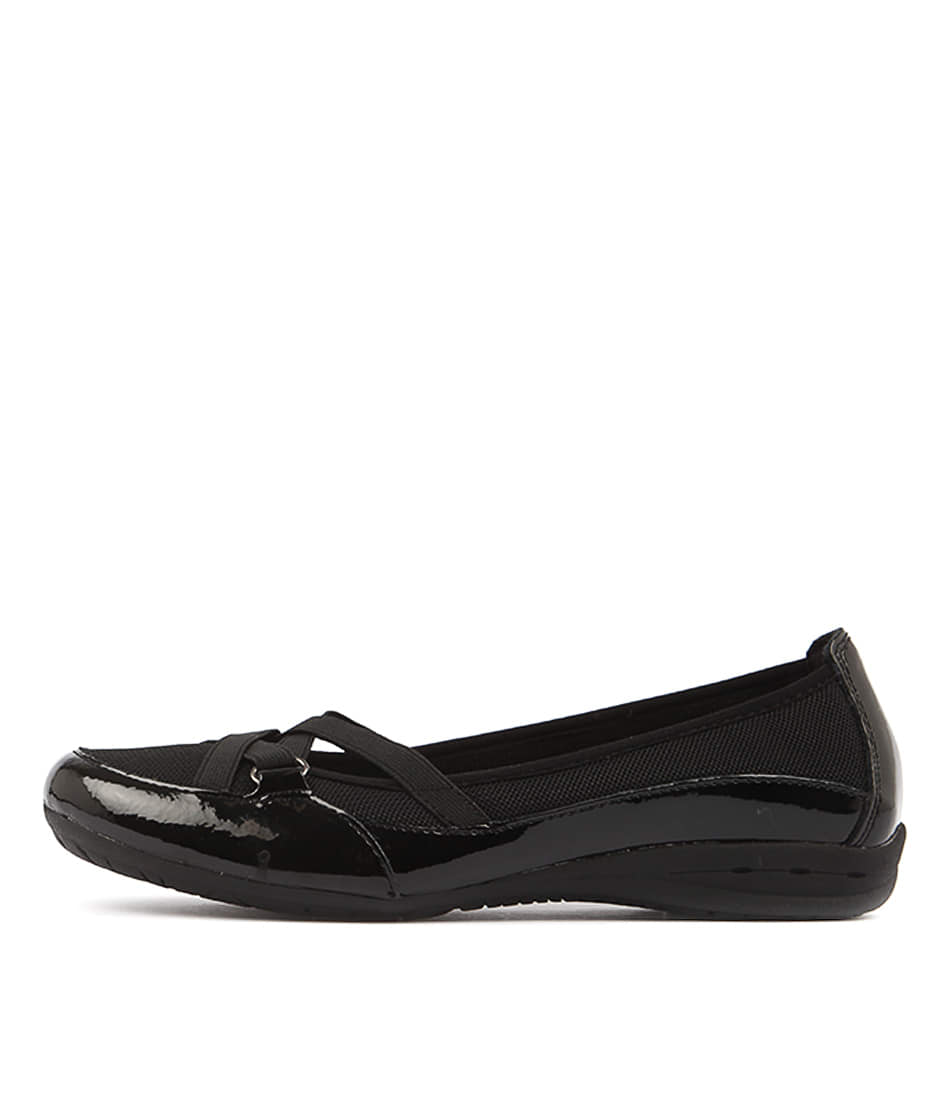 Buy Planet Fergie Black Flats online with free shipping