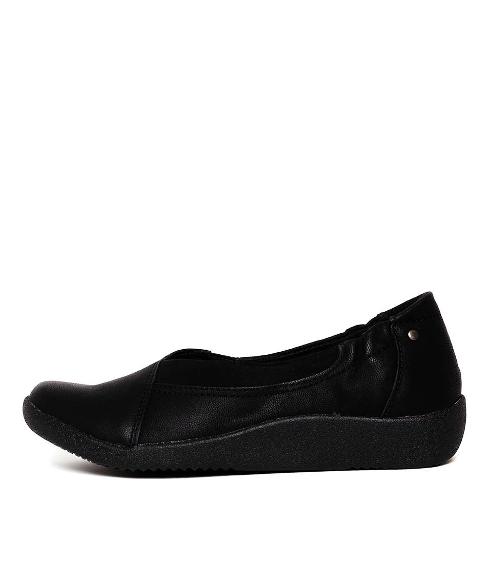 Buy Planet Gerty 2 Black Flats online with free shipping