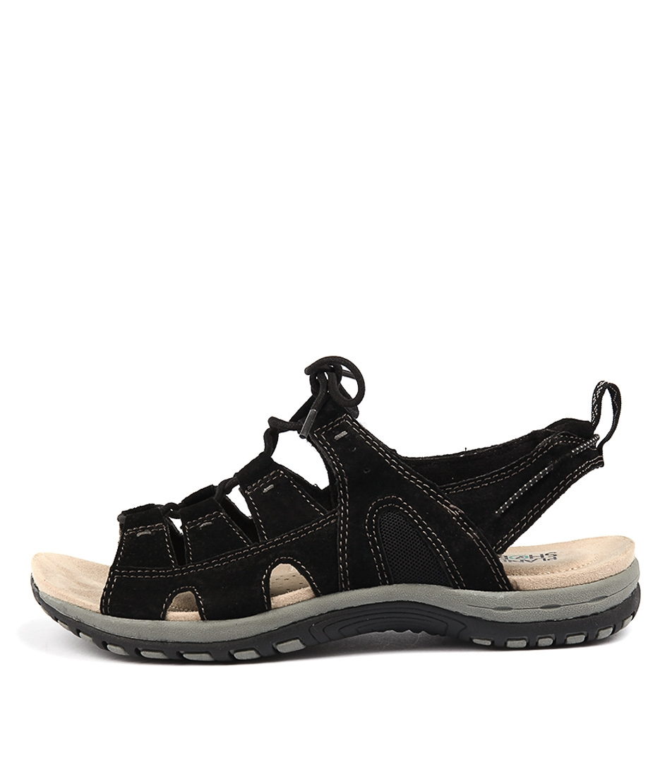 Planet Jacinta Pl Black Sandals