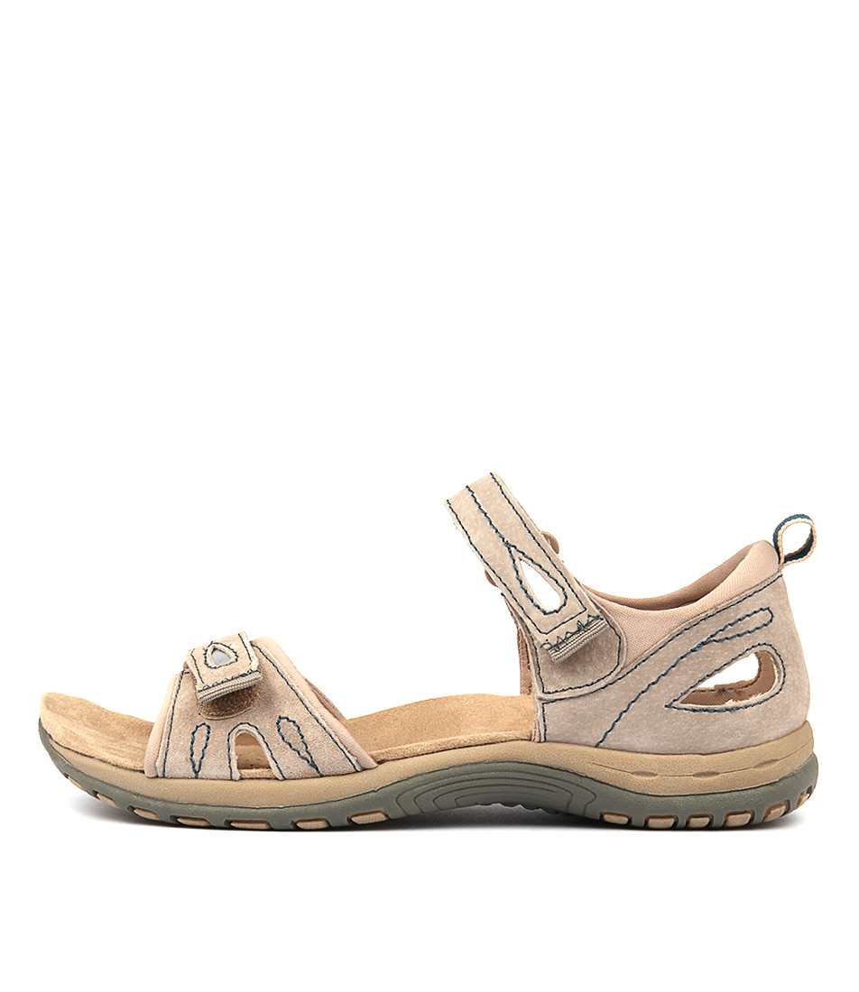 Planet Jermaine Lt Khaki Casual Flat Sandals
