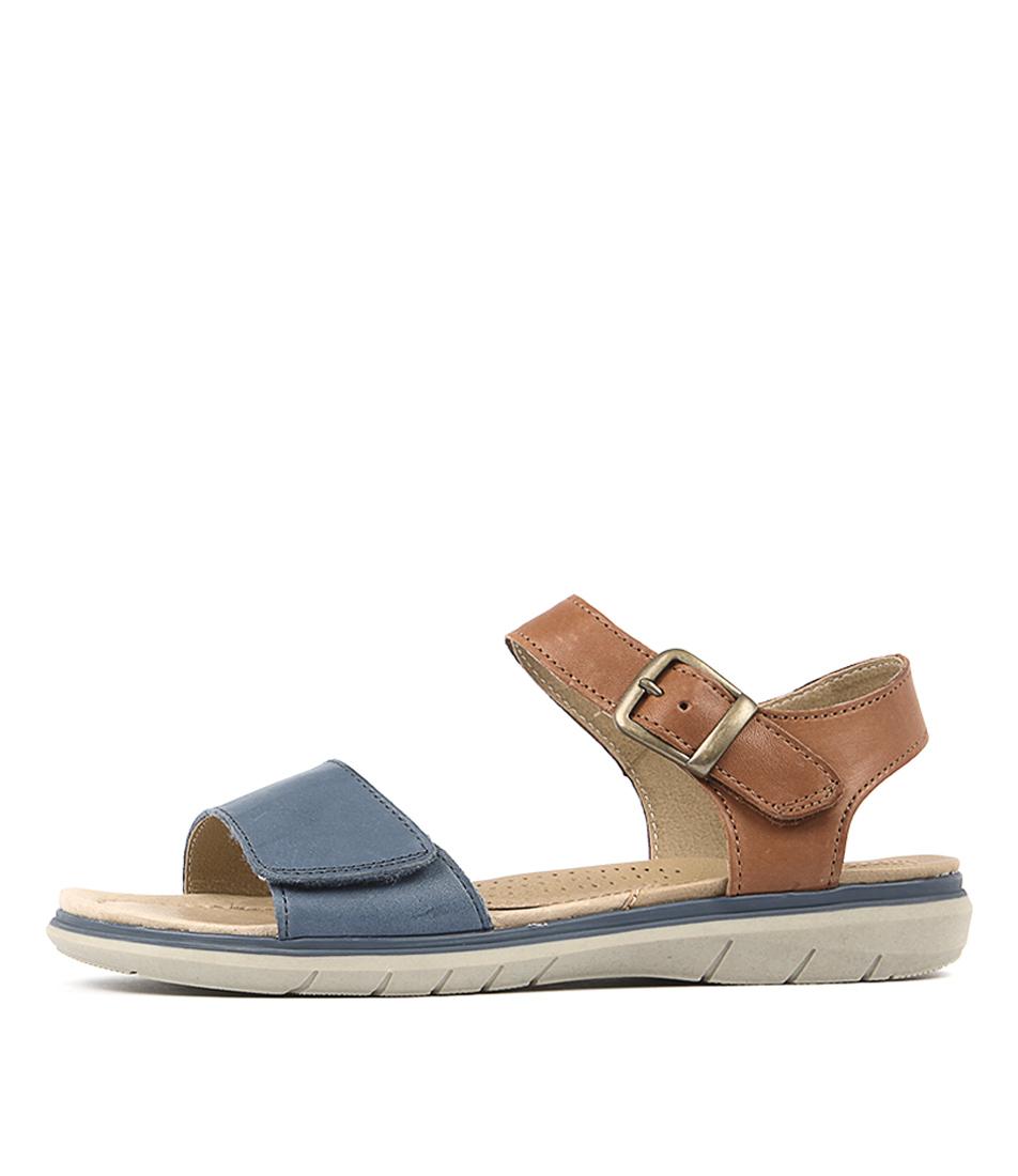 Planet Lou Blue Sandals