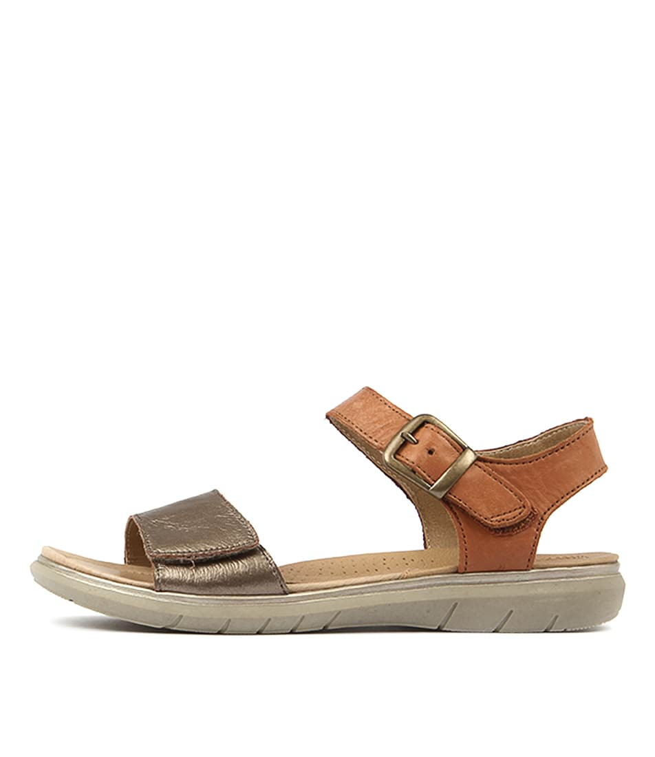 Planet Lou Platinum Sandals
