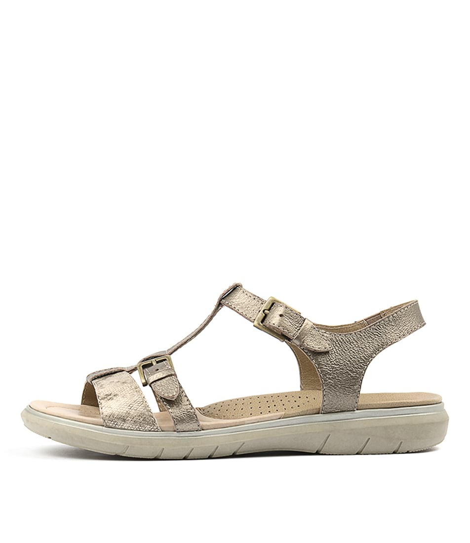 Planet Lucy Pl Platinum Sandals