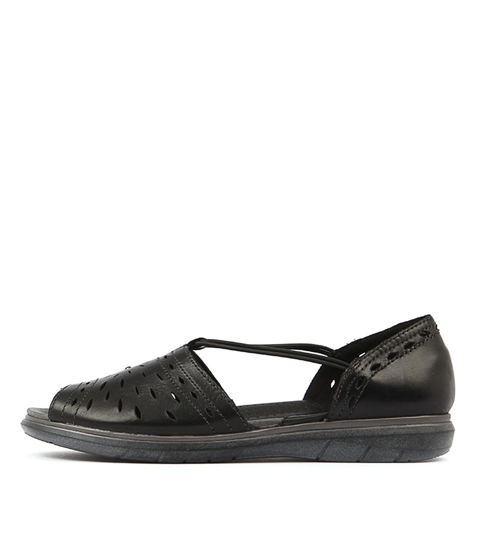 Planet Lydia Pl Black Sandals