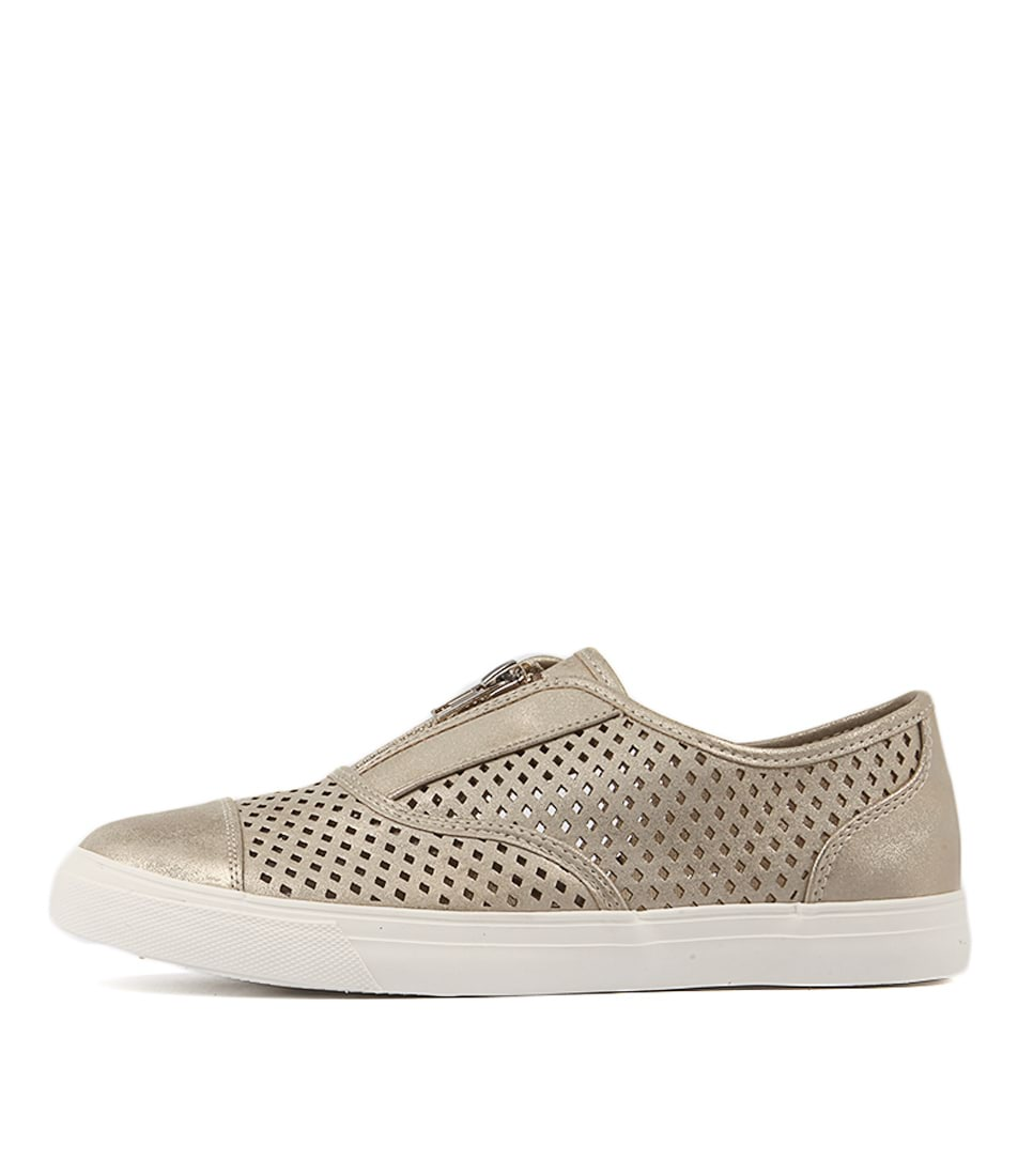 Planet Pearla Pl Gold Sneakers