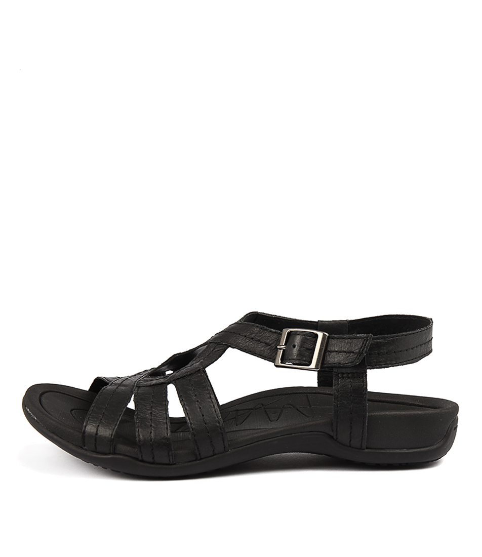 Planet Sail Pl Black Sandals
