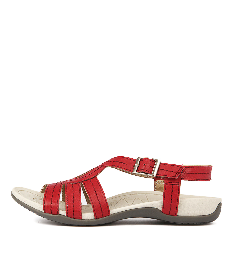 Planet Sail Pl Red Sandals