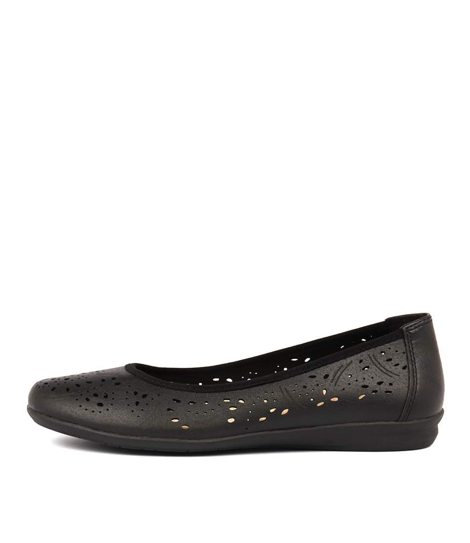Planet Sunny Pl Black Casual Flat Shoes