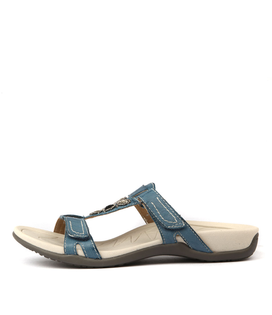 Buy Planet Surf Blue Flat Sandals online with free shipping