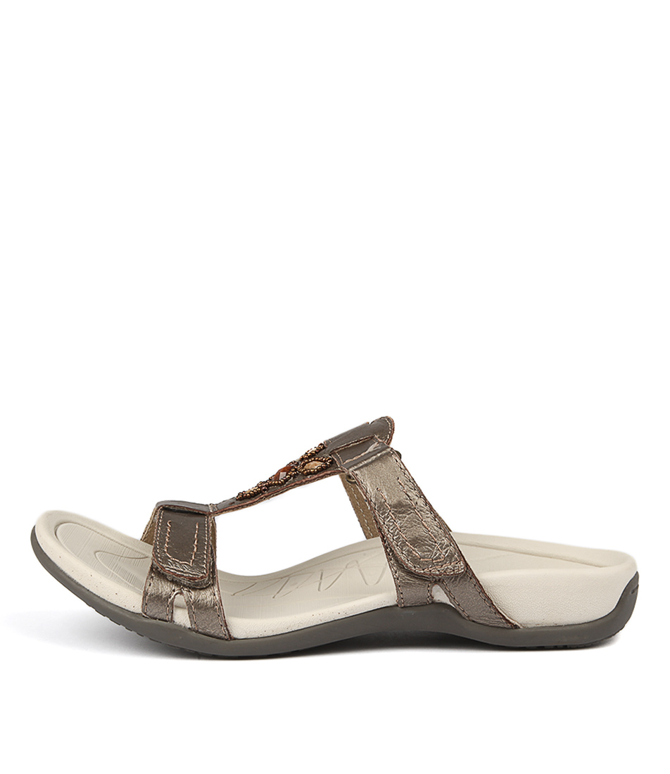Planet Surf Platinum Sandals