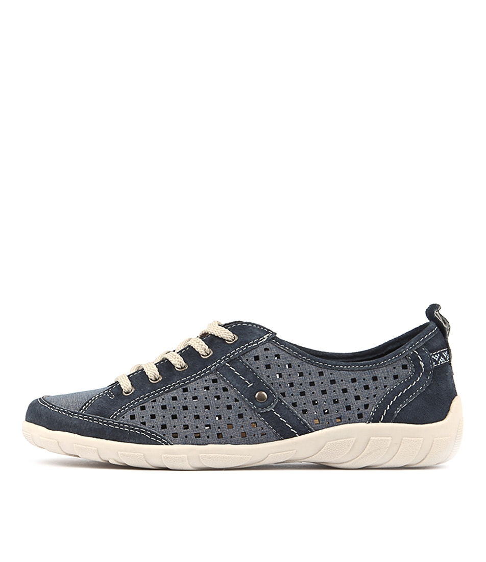 Planet Wooly Pl Blue Sneakers