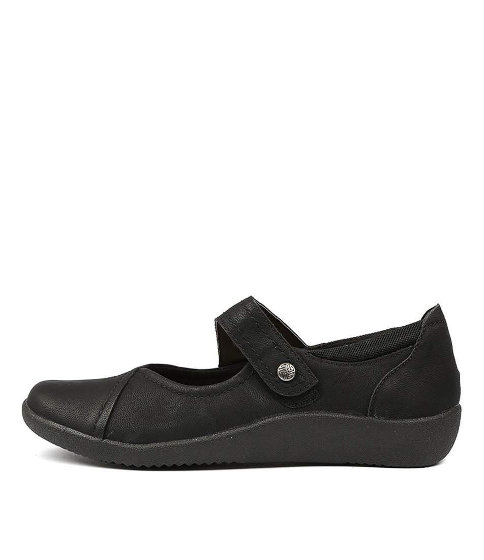 Buy Planet Guam Black Flats online with free shipping