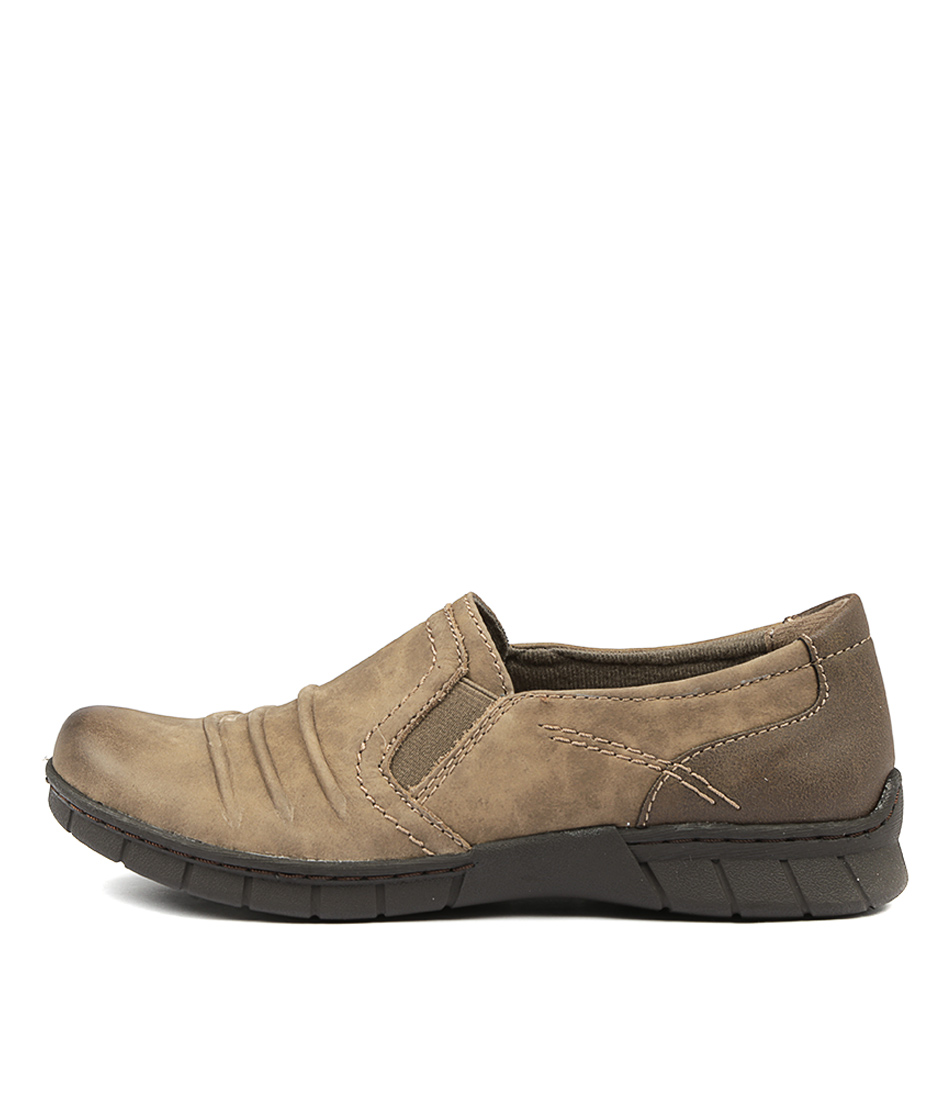 Planet Jeanie Pl Taupe Flats