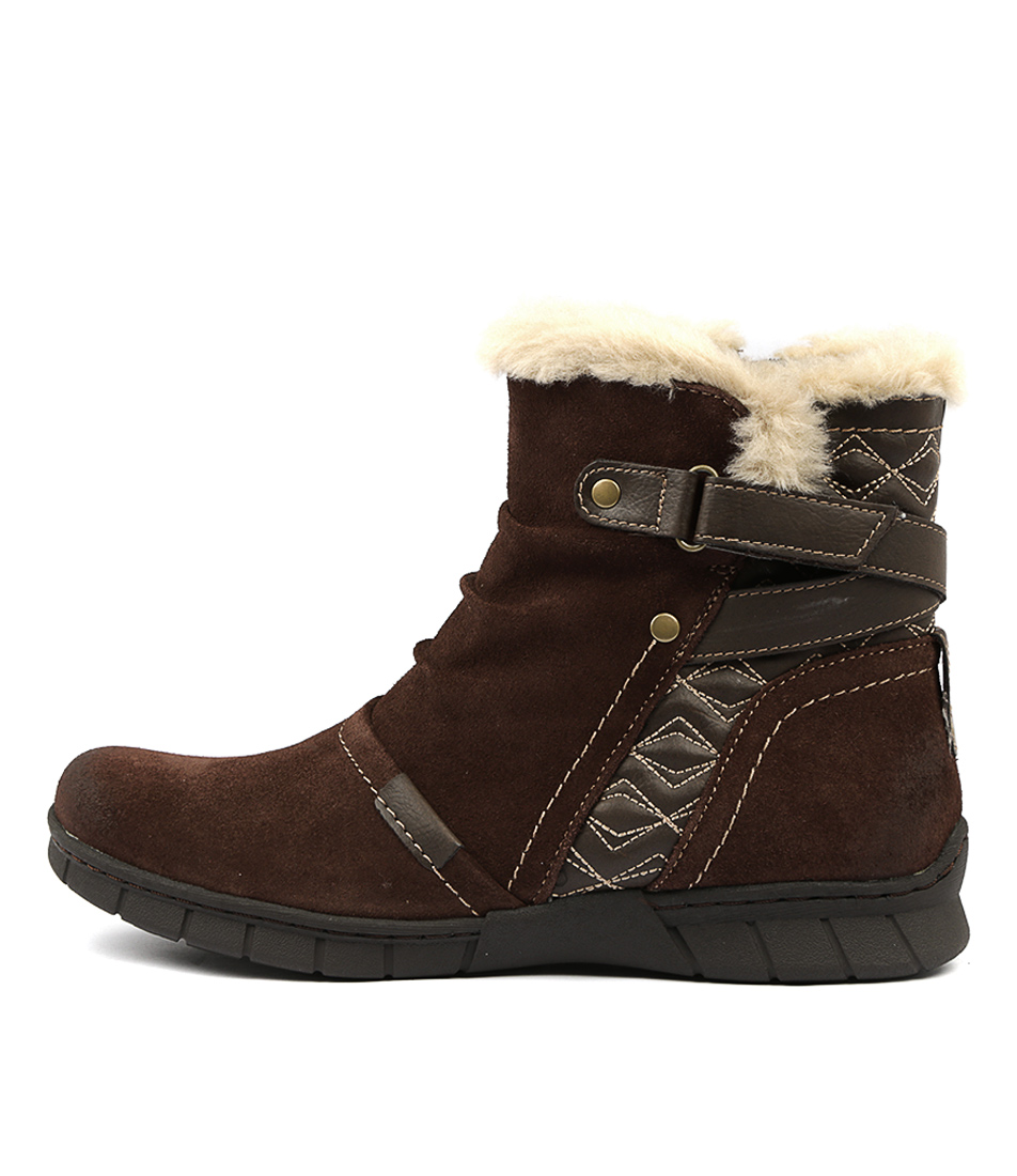 Photo of Planet Joffa Bark Ankle Boots womens shoes