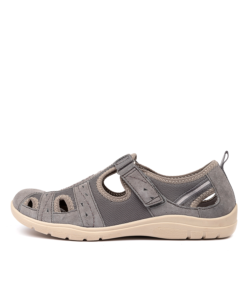 Buy Planet Energy Grey Flats online with free shipping