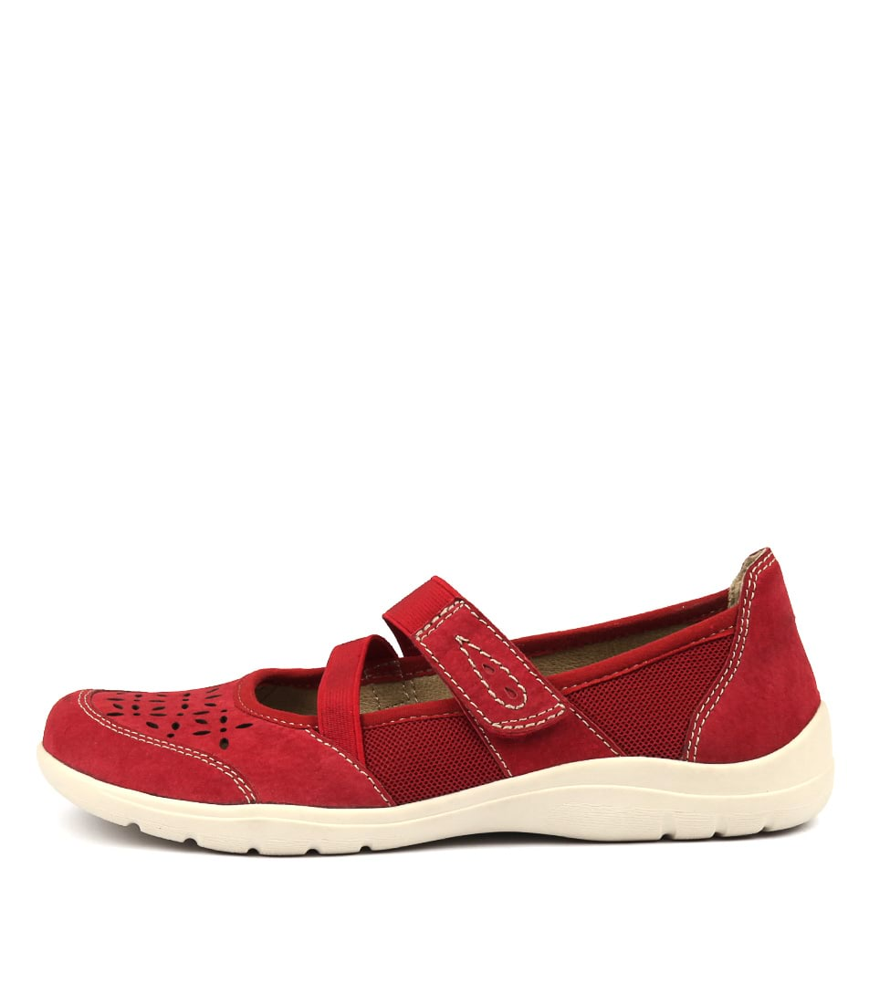 Buy Planet Emulse Red Flats online with free shipping