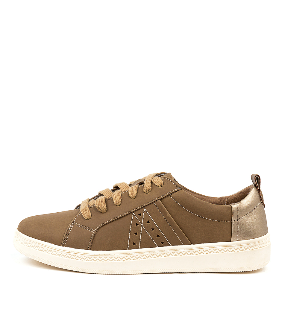 Buy Planet Dixie Pl Gold Sneakers online with free shipping