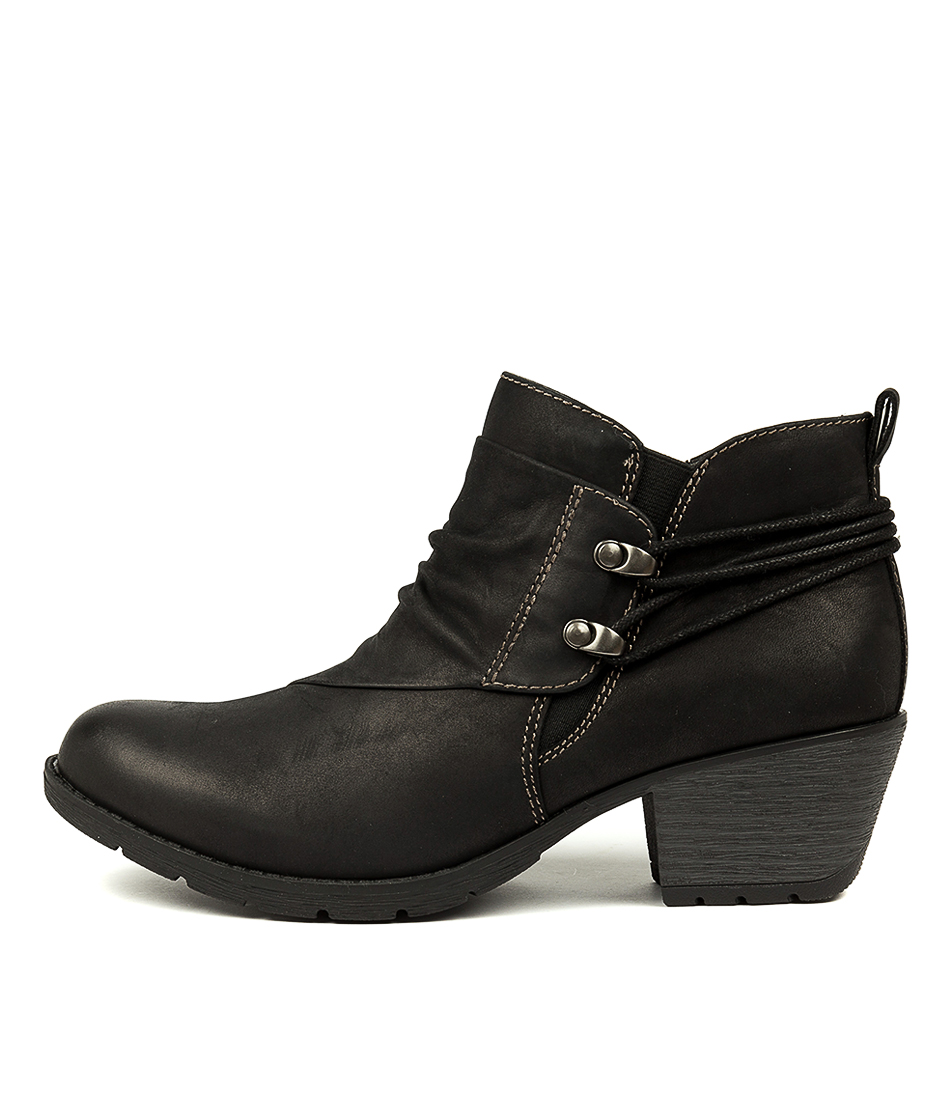 Buy Planet Hilary Pl Black Ankle Boots online with free shipping
