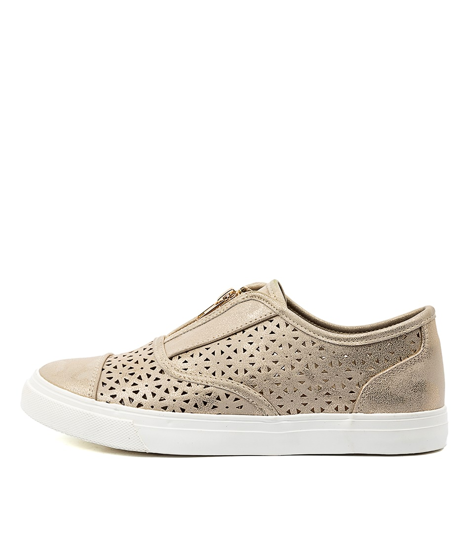 Buy Planet Daisy2 Pl Gold Sneakers online with free shipping