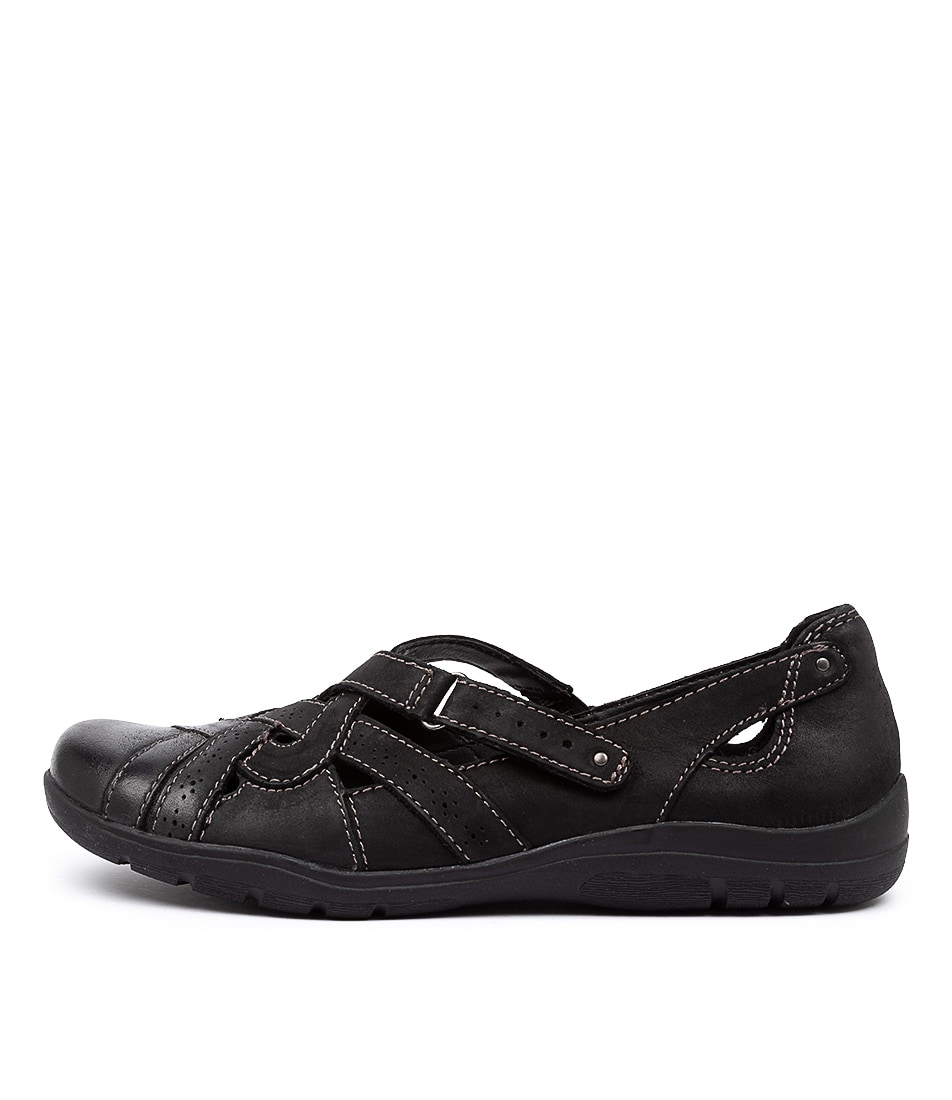 Buy Planet Mary Pl Black Flats online with free shipping