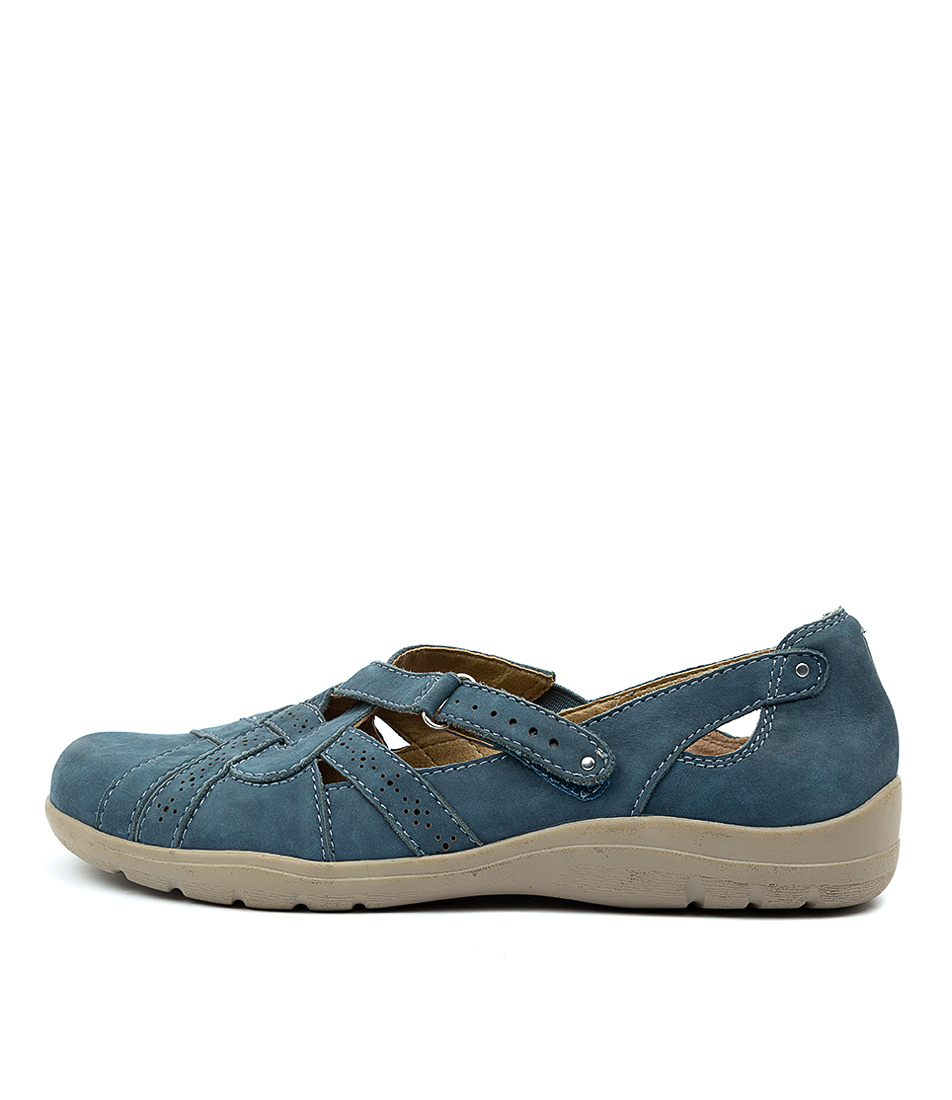 Buy Planet Mary Pl Blue Flats online with free shipping