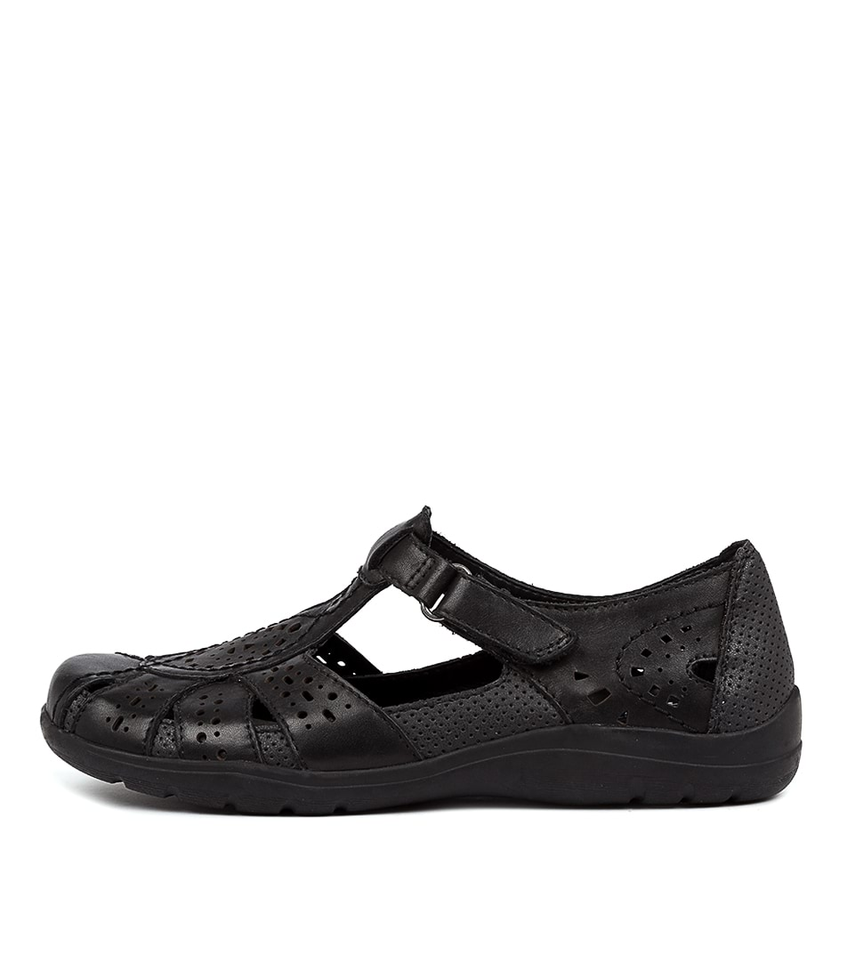 Buy Planet Mage Pl Black Flats online with free shipping