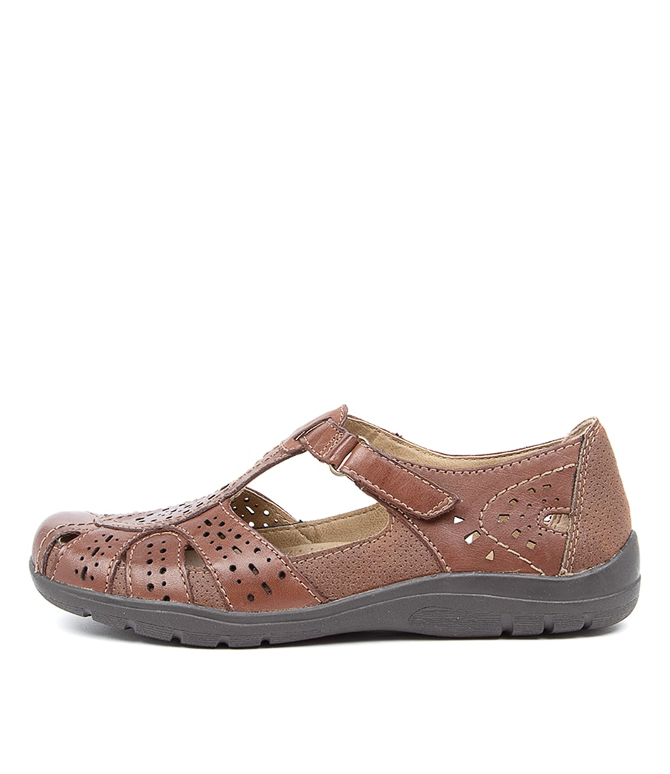 Buy Planet Mage Pl Brown Flats online with free shipping