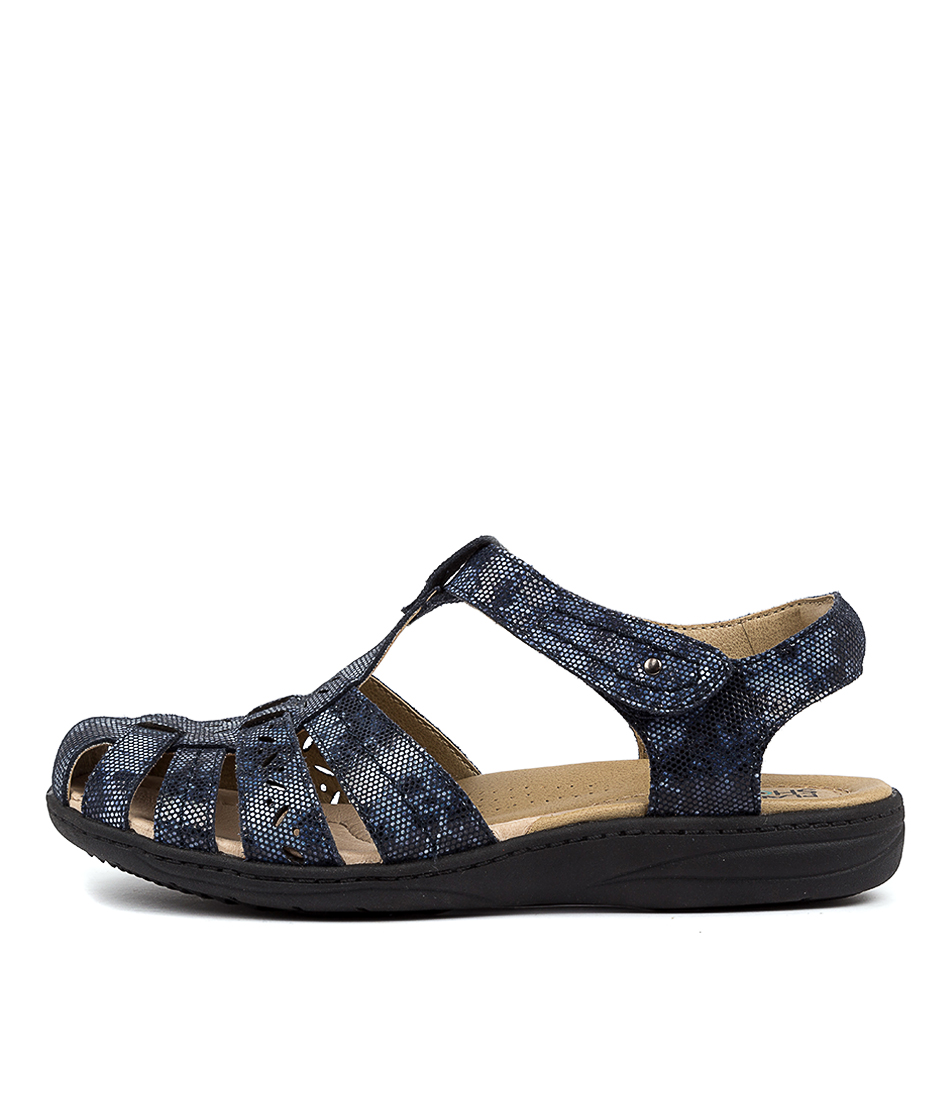 Buy Planet Gabby Pl Blue Multi Flats online with free shipping