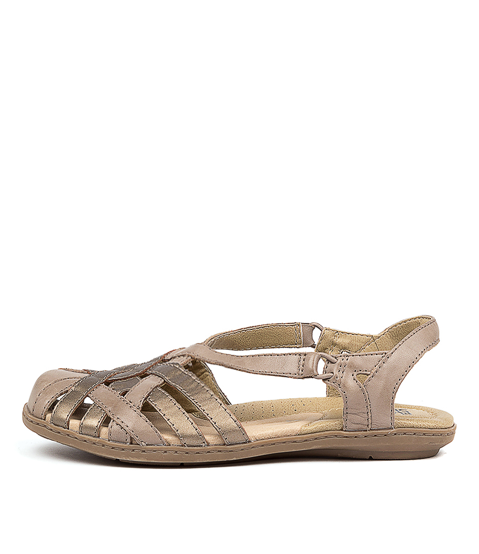 Buy Planet Christine Pl Nickel Flat Sandals online with free shipping