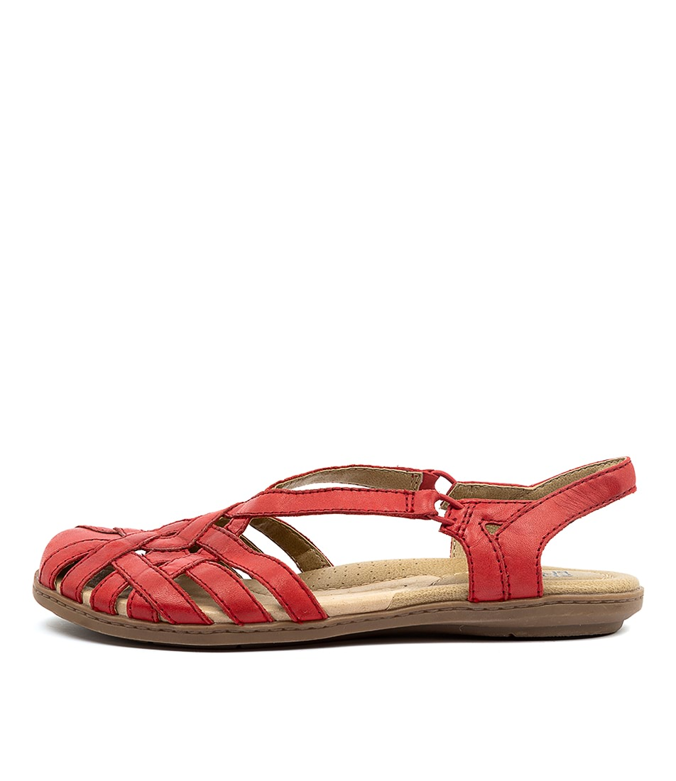 Buy Planet Christine Pl Red Flat Sandals online with free shipping