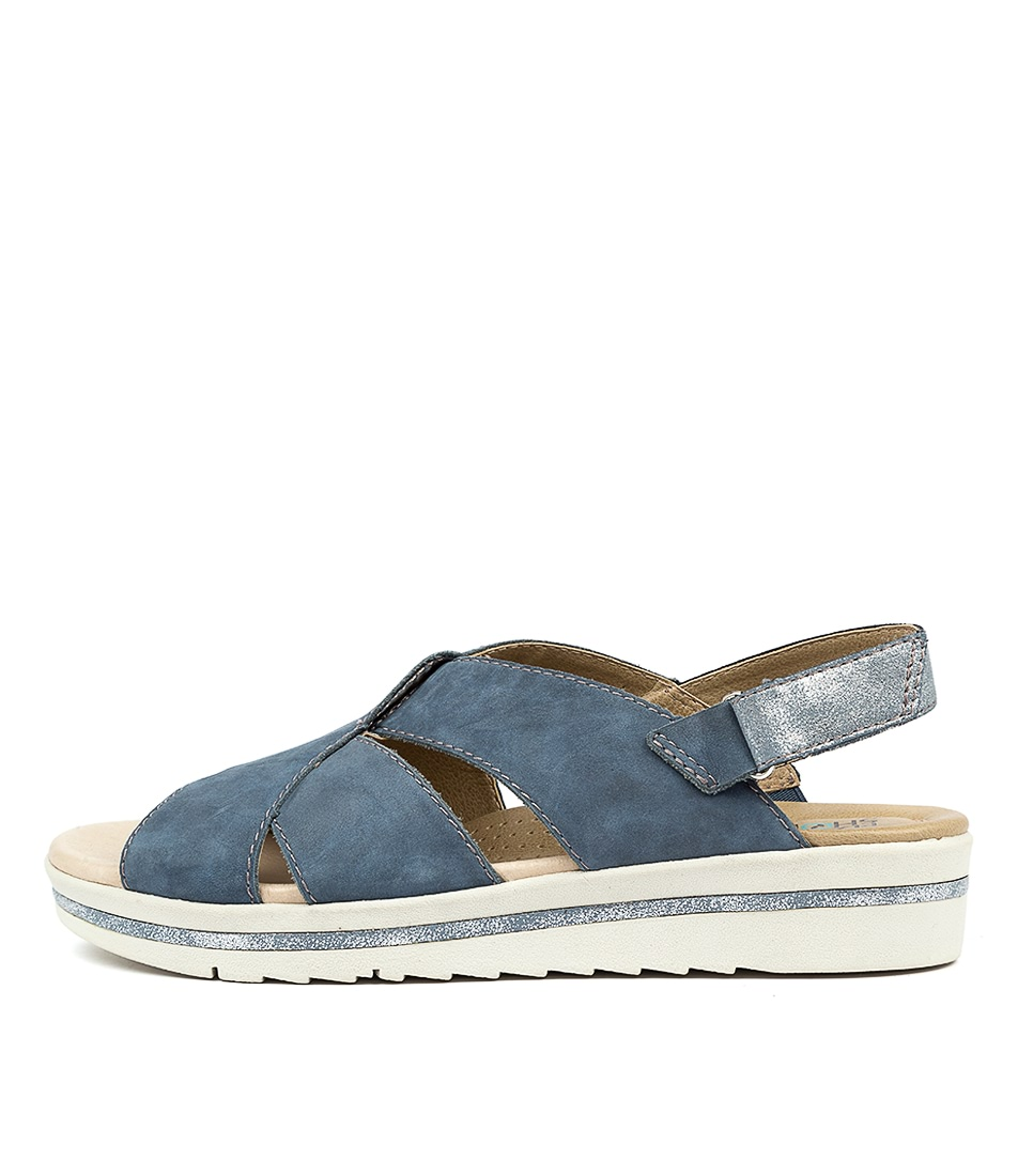 Buy Planet Linsey Pl Blue Sandals online with free shipping