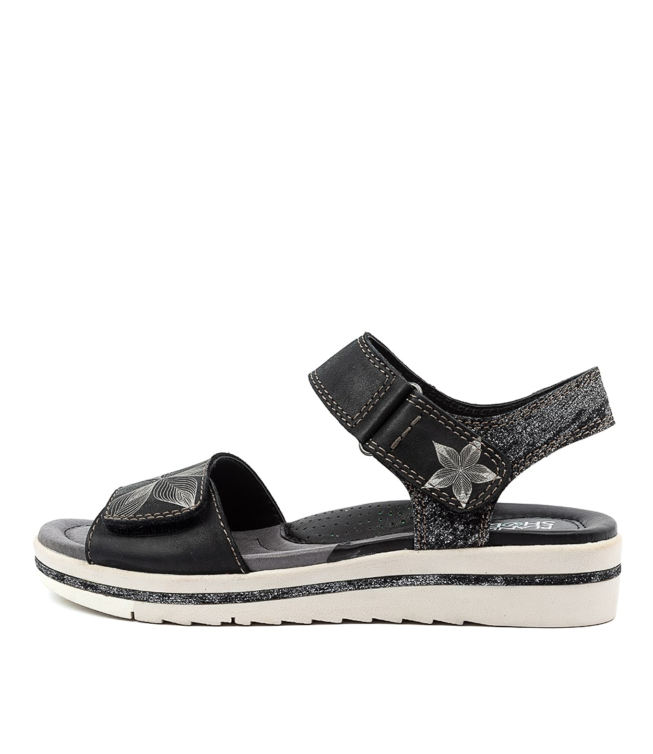 Buy Planet Lauren Pl Black Sandals online with free shipping