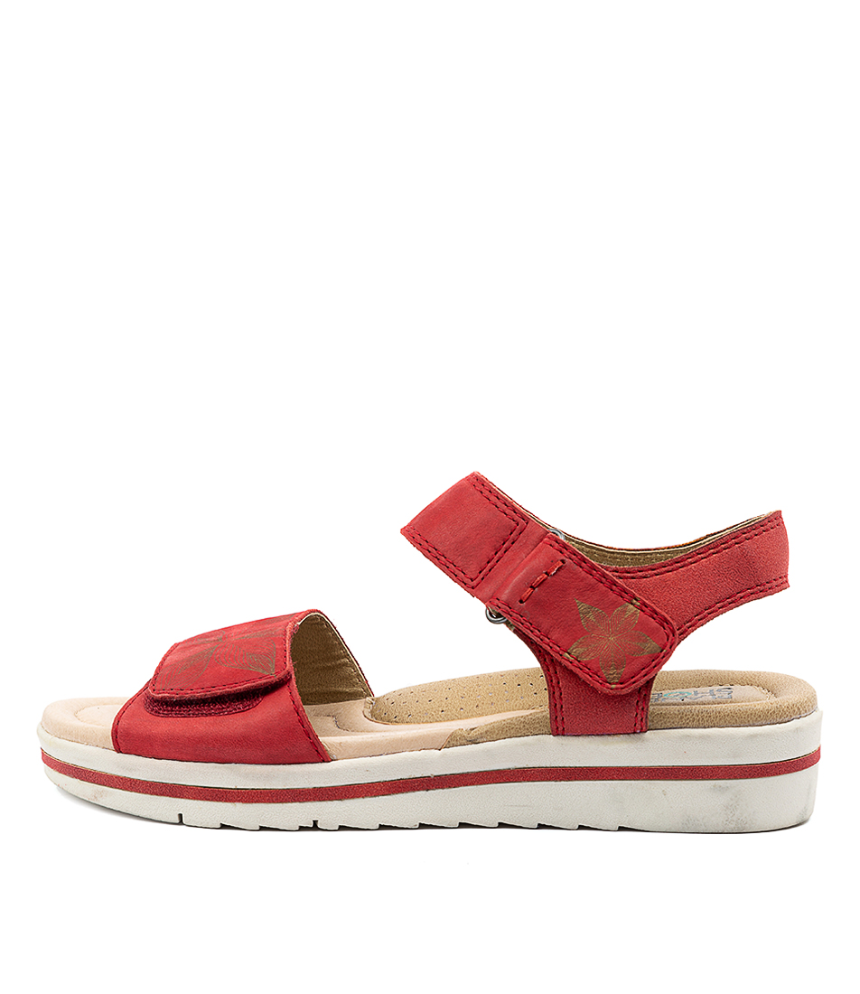 Buy Planet Lauren Pl Red Sandals online with free shipping