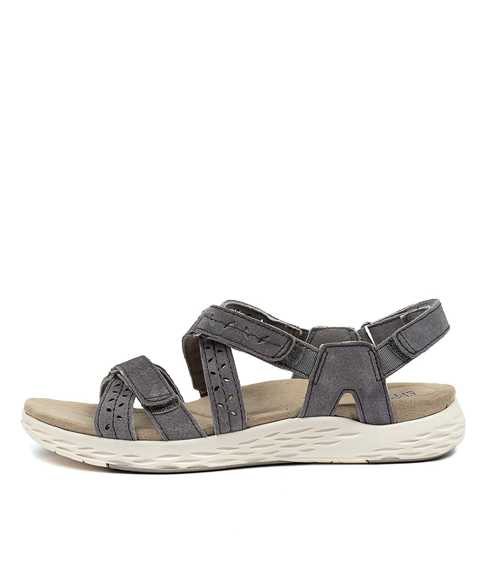 Buy Planet Emily Pl Grey Flat Sandals online with free shipping