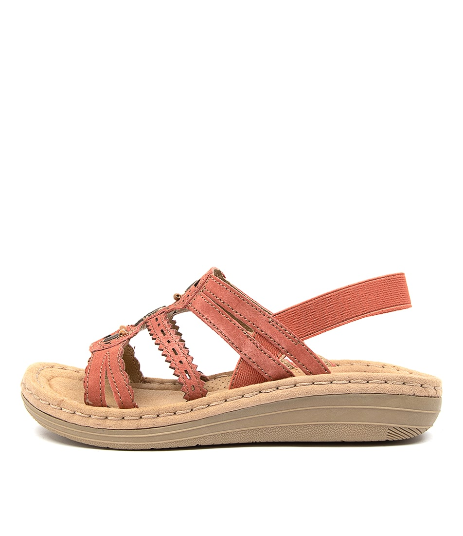 Buy Planet Bar2 Pl Rust Heeled Sandals online with free shipping