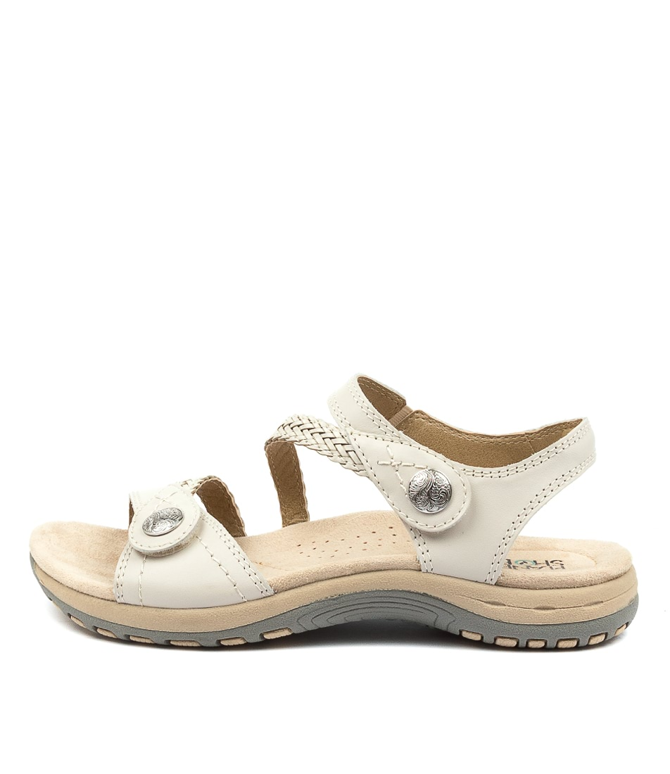 Buy Planet Crop Pl Sand White Sandals Flat Sandals online with free shipping