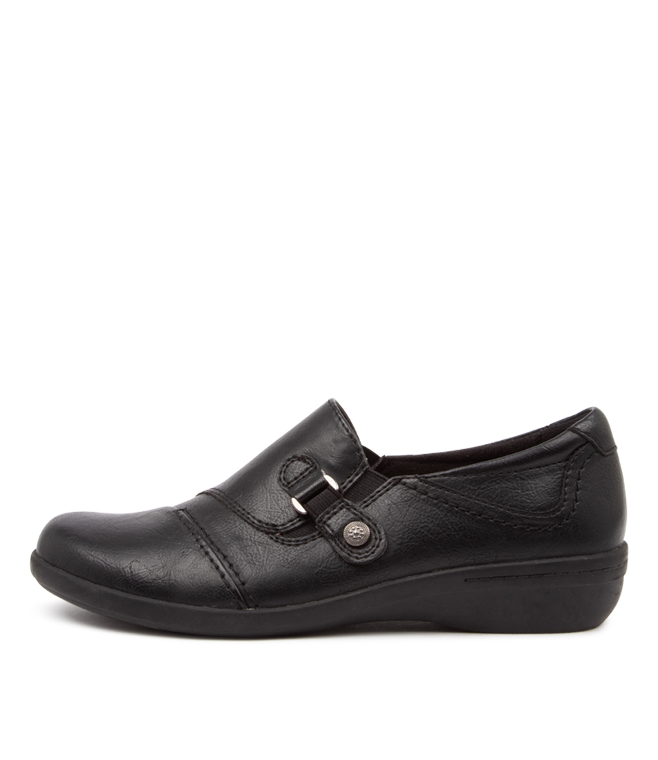 Buy Planet Corby Pl Black Flats online with free shipping