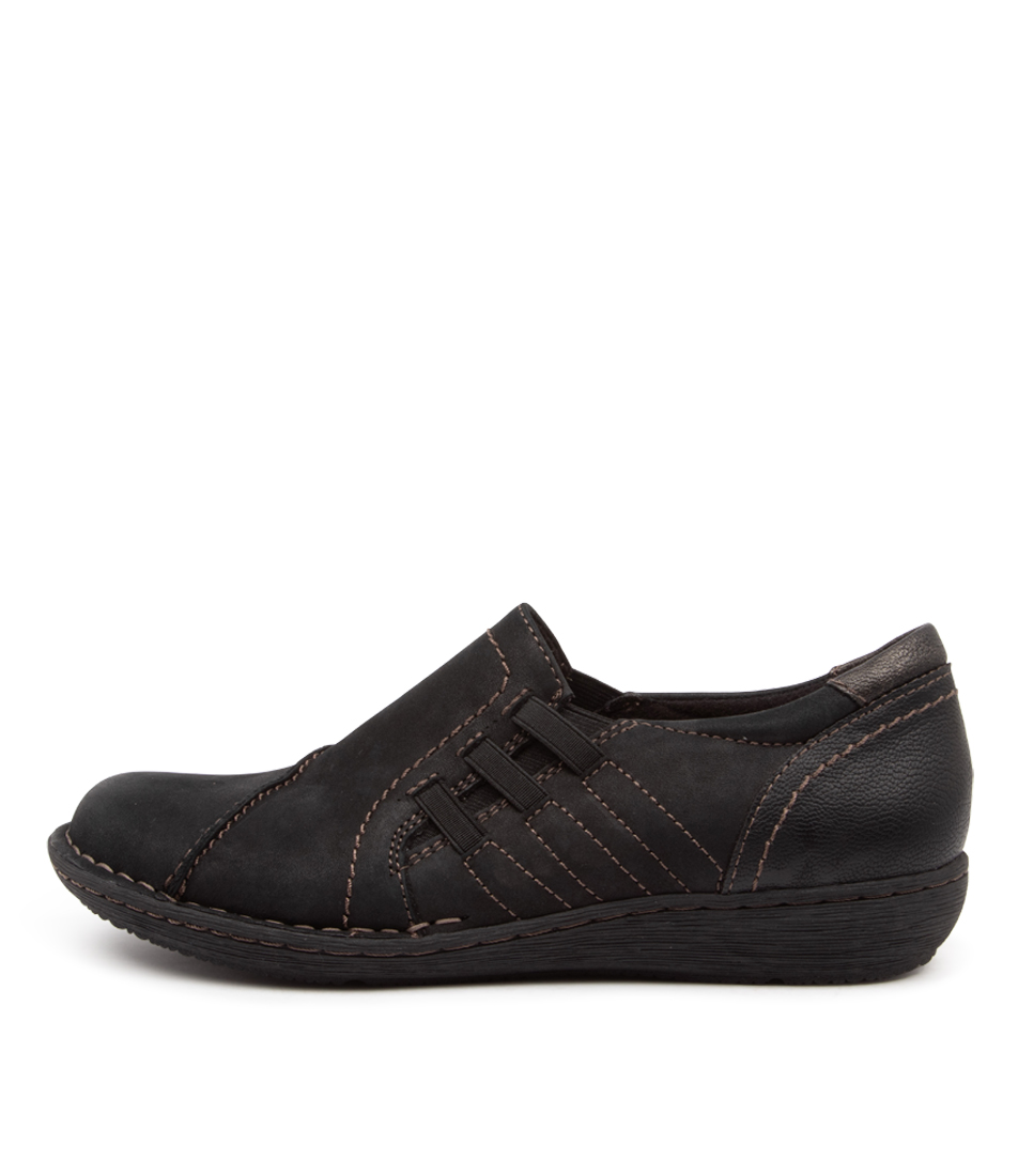 Buy Planet Watford Pl Black Flats online with free shipping