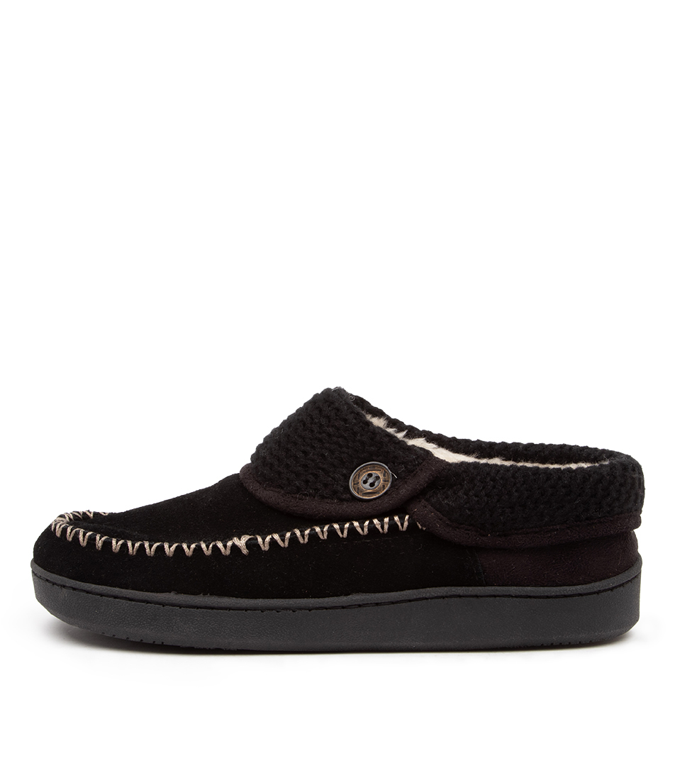 Buy Planet Rusty Pl Black Flats online with free shipping