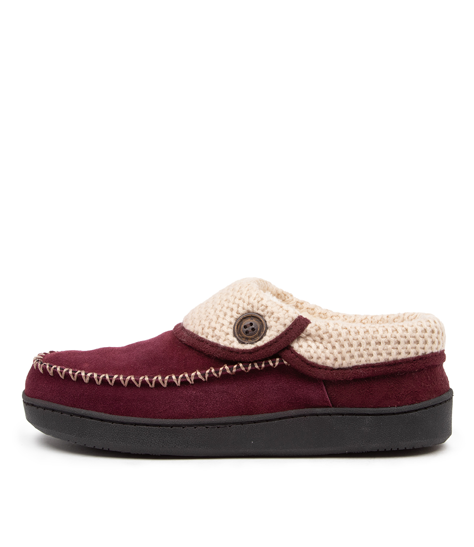 Buy Planet Rusty Pl Maroon Flats online with free shipping
