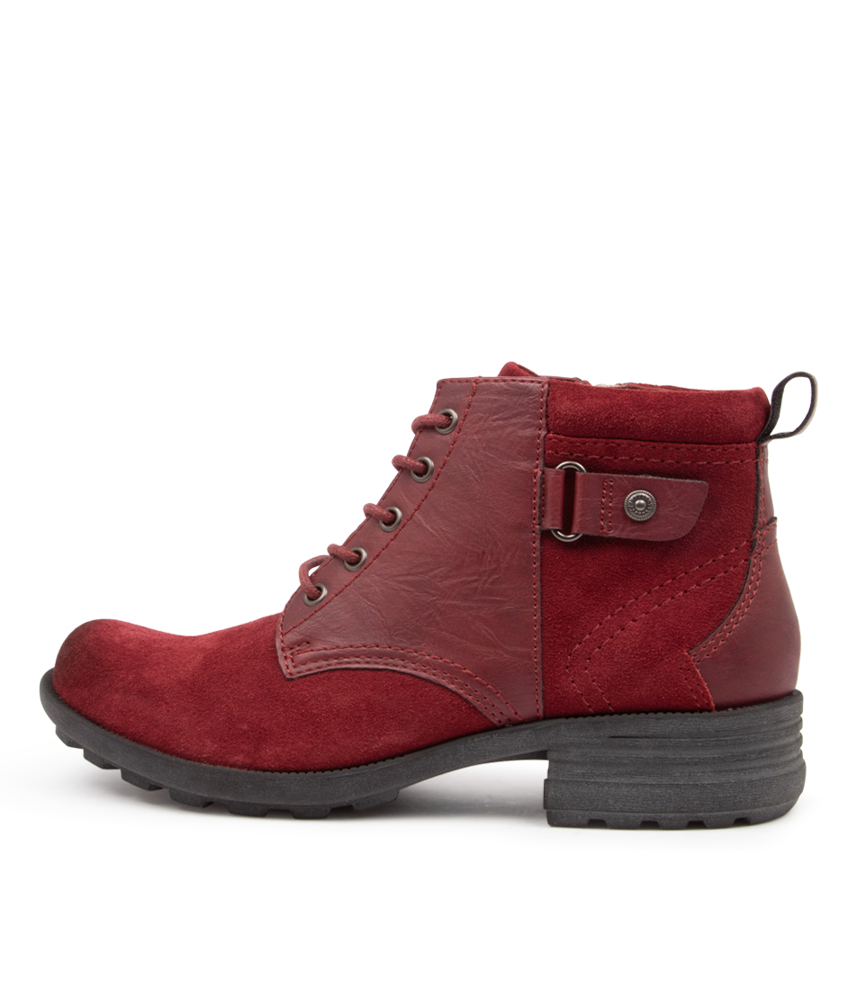 Buy Planet Padstow Pl Scarlet Ankle Boots online with free shipping
