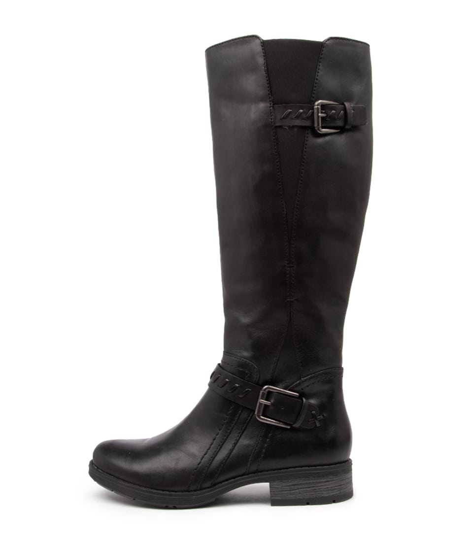 Buy Planet Maddison2 Pl Black Long Boots online with free shipping