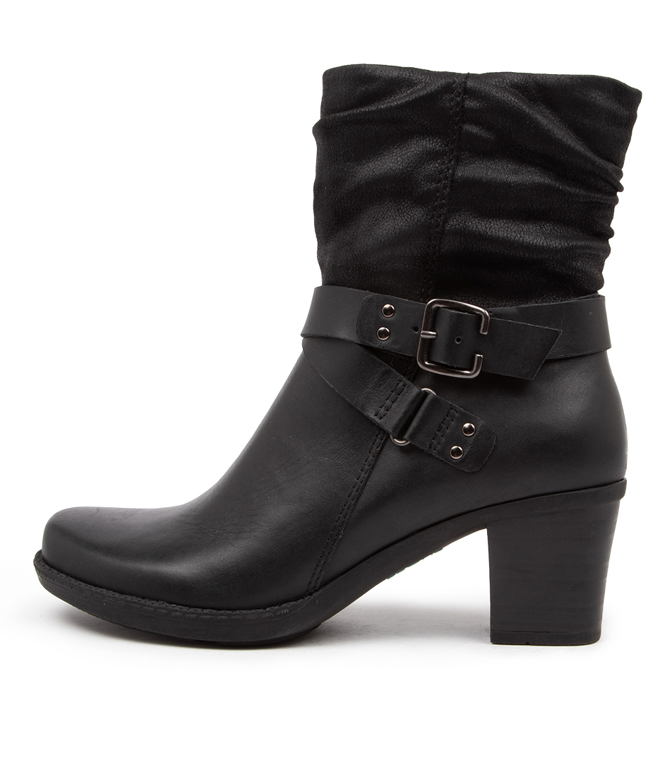 Buy Planet Kew Pl Black Ankle Boots online with free shipping