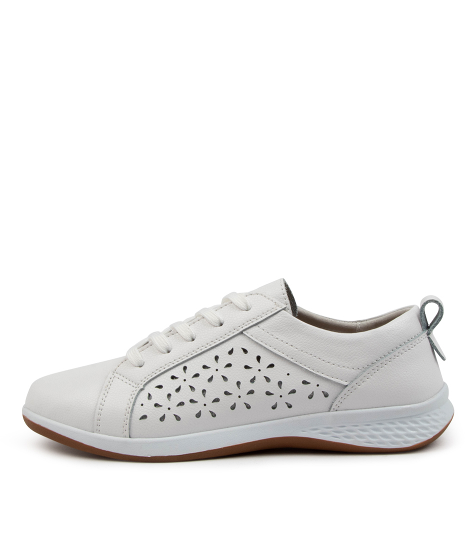 Buy Planet Whirl Pl White Sneakers online with free shipping