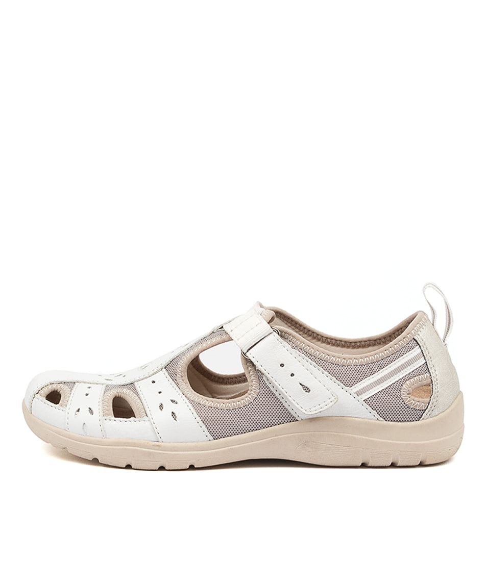 Buy Planet Engage Pl White Flats online with free shipping