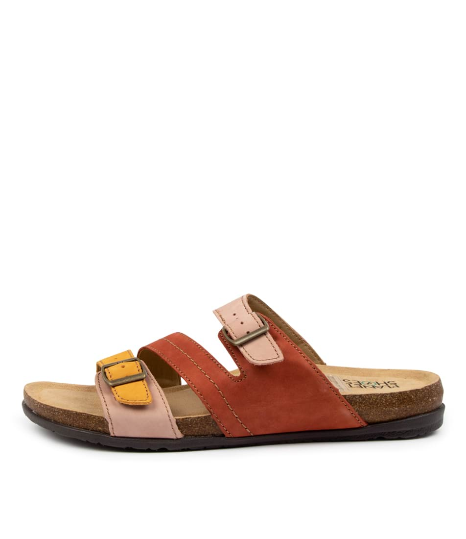 Buy Planet Light Pl Amber Flat Sandals online with free shipping