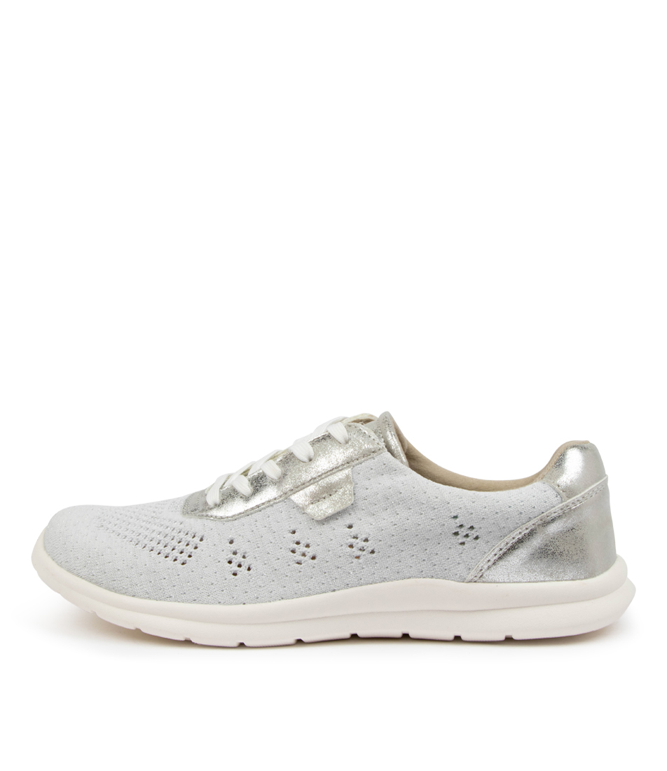 Buy Planet Push Pl Silver Sneakers online with free shipping